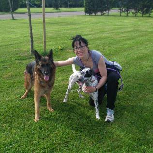 Ares con su nueva familia