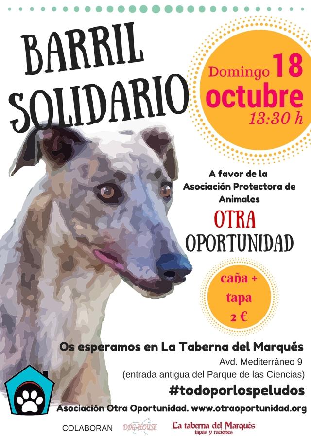 barril solidario asociación Otra Oportunidad domingo 18 de octubre
