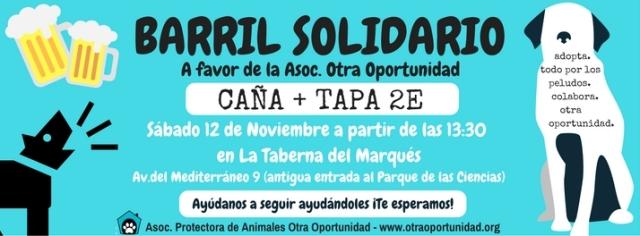 barril solidario asociación de animales