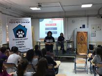 charla maltrato animal asociación otra oportunidad