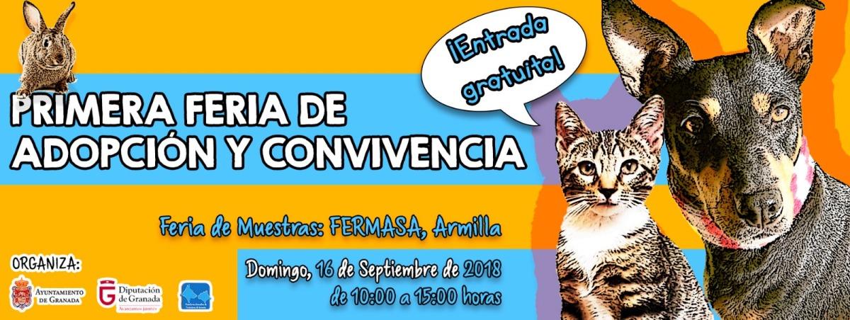 evento adopción de animales Granada